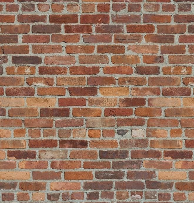 Brick Wood And Stone