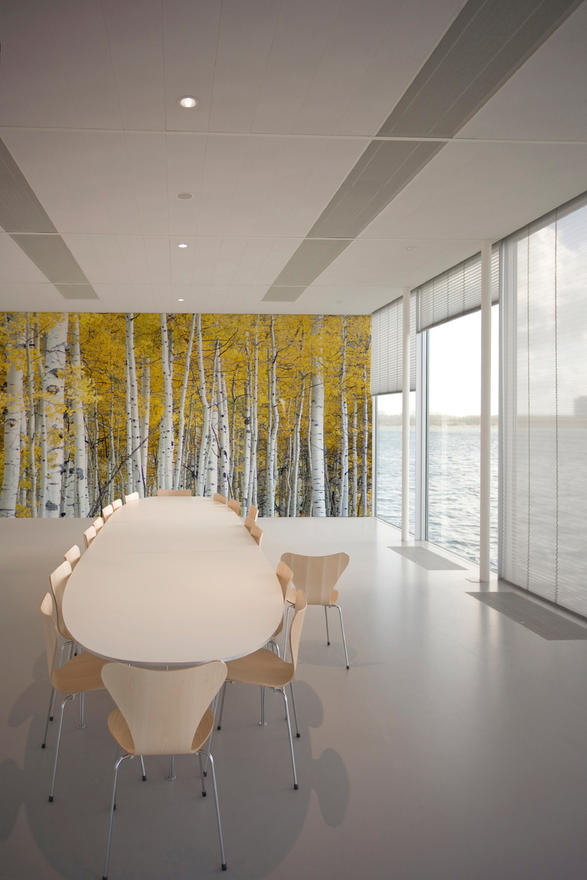 Trees And Gardens Trees Yellow Tektura Wallcoverings
