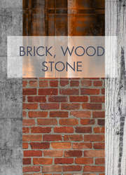 Brick Wood And Stone