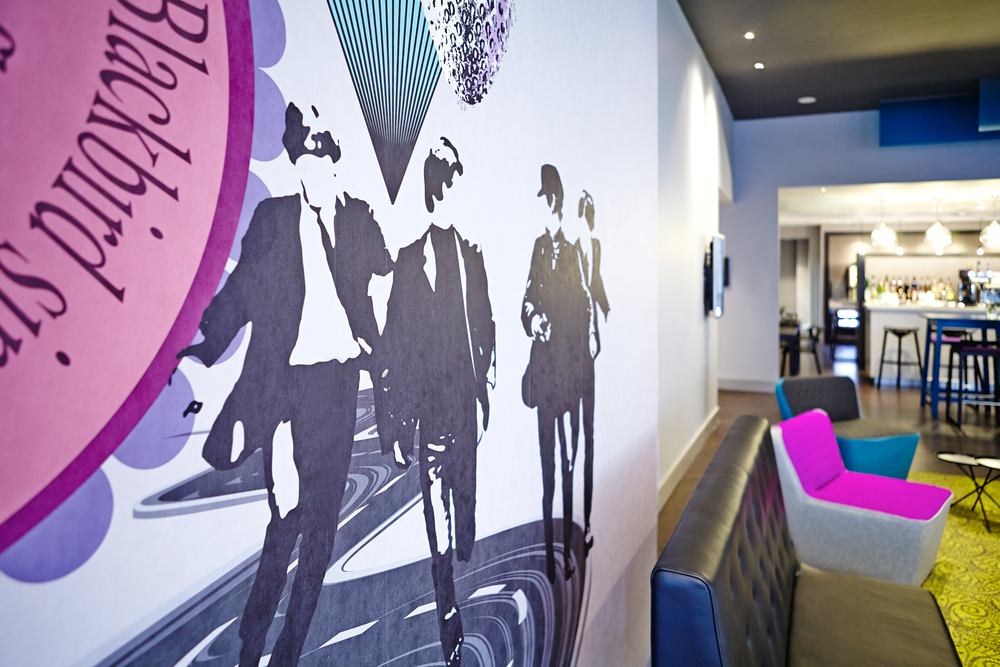 Ibis Liverpool - Projects - Blog - Projects - - Tektura Wallcoverings
