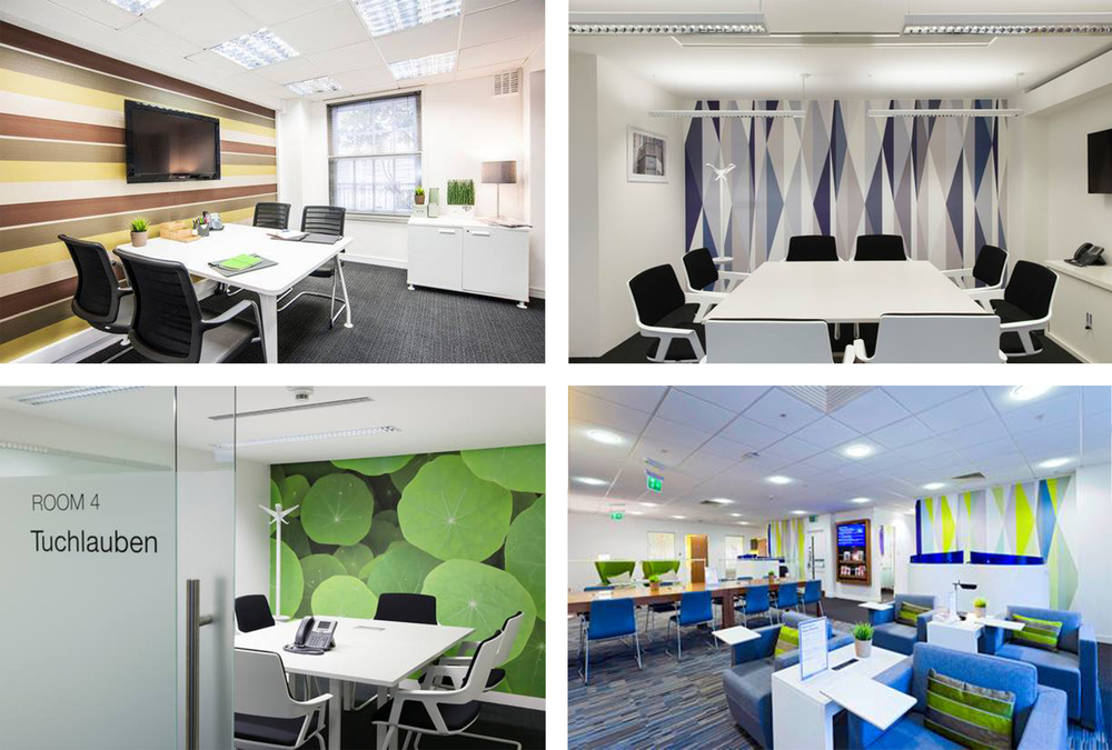 regus business lounge at gatwick airport projects blog projects tektura wallcoverings. Black Bedroom Furniture Sets. Home Design Ideas