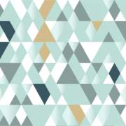 Triangles Verdigris 3x5m repeat