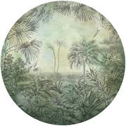 GRA300420 In The Woods circular Mural145x145