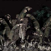 Jungle Palms Dark